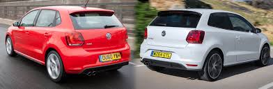 volkswagen hatch old 2015 facelifted volkswagen polo gti u2013 old vs new compared carwow