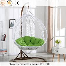 rattan wicker hanging egg chair outdoor jhula patio garden swing