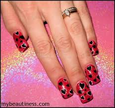 nail art valentines u0027 day design women beauty