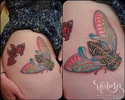 Off The Map Tattoo Locust Tattoo Photo Num 18538