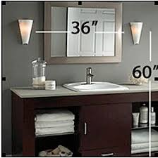 Vanity Bar Lights Bathroom by A Lesson In Bathroom Lighting Lights House And Face