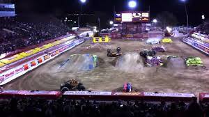 monster truck jam las vegas ryan anderson monster jam las vegas 2011 youtube