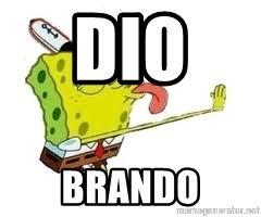 Spongebob Licking Meme Maker - dio brando spongebob licking meme generator