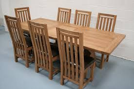 solid oak dining room sets solid oak extending dining table and chairs set home goods dining