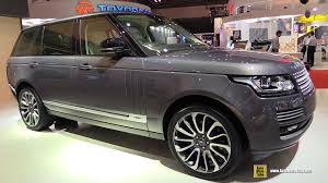 2016 land rover range rover interior 2016 range rover autobiography exterior and interior walkaround