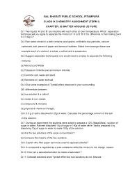 bal bharati public pitampura class ix chemistry assignment