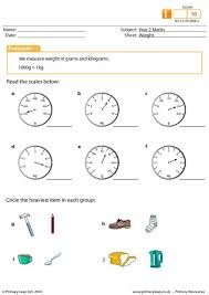 weight worksheet this activity asks students to read the scales