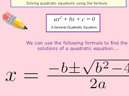 solving quadratic equations factorising formula and completing the square