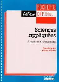 sciences appliqu s cap cuisine livre sciences appliquées cap cuisine restaurant hébergement