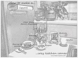 A Cozy Kitchen by Defrump Me How To Create A Cozy Kitchen Corner For Yourself Plus