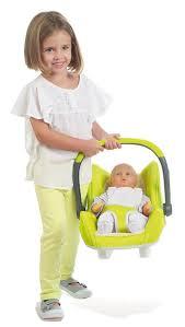 siege auto pour poupon siège auto smoby bébé confort pour poupon accessoire poupée
