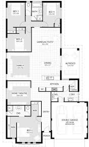 Floor Plans For Large Families by Home Designs With Activity Room Celebration Homes House Plan