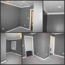 gray painted rooms went with sherwin williams agreeable gray dovetail gray with the
