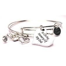 humanity bracelets in loving memory of my dad expandable bangle bracelet set dad