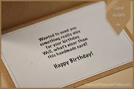 what to put in a birthday card happybirthday wishes all year