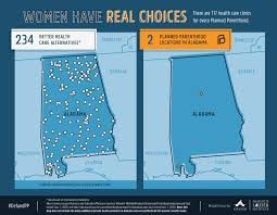 Map Of Florida And Alabama by Maps Health Clinics Nationwide Compared To Planned Parenthood