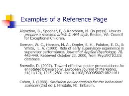 writing reference page in apa format huanyii com