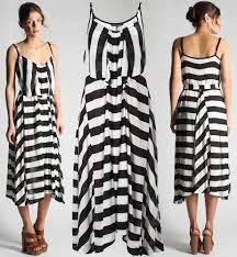 black white striped maxi dress vintage black dresses