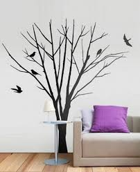 home decor wall art stickers wall tree wall art sticker pheric this creates a stunning