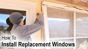 How To Plumb A House by How To Install A Replacement Window On A House With Wood Siding