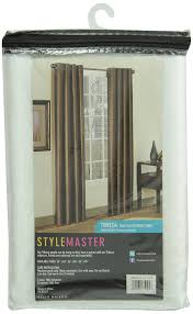 amazon com stylemaster tribeca 56 by 84 inch faux silk grommet