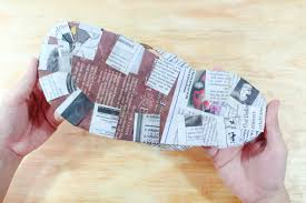 How To M by How To Create Flip Flops Out Of Newspaper With Pictures