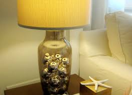 glass lamps you can fill with shells glass lamp clear glass lamp