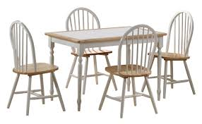 tile top dining room tables tile top dining room set condo dining room furniture 5pc wood