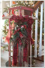 Decoration For Christmas Best 25 Vintage Christmas Decorating Ideas On Pinterest