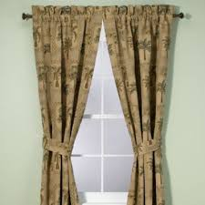 buy palm tree window curtains from bed bath u0026 beyond
