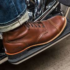 red motorbike boots indian motorcycle boots by red wing the spirit lake boot baggers