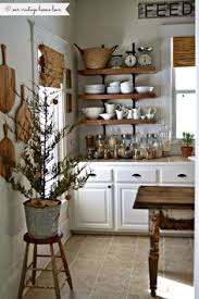 Kitchen Shelves Design Ideas by 7 Ideas For A Farmhouse Inspired Kitchen On A Budget Open
