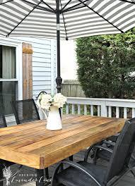 Diy Patio Table Diy Patio Table 15 Easy Ways To Make Your Own Bob Vila