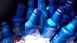 Alcohol In Bud Light Ice Cold Bottles Of Bud Light In Cooler 4k Stock Video Footage