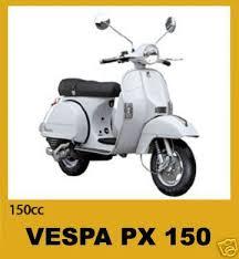 vespa px 150 scooter service manual parts manuals px150 for sale