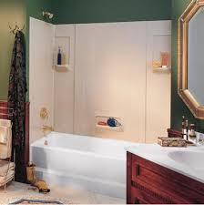 58 Inch Bathtub Shower Combo Bathroom Swanstone Tub Surround Tub And Shower Enclosures