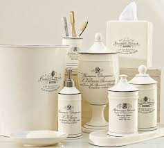Tropical Bathroom Accessories by Best 25 Traditional Bathroom Canisters Ideas On Pinterest