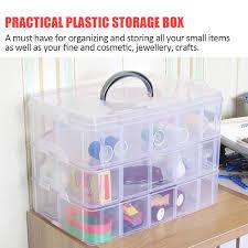 practical storage box container 30 organizer nail polish jewelry