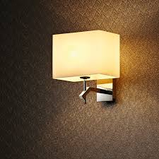 decorative wall lights for homes factory wholesale iron material fabric shade home decoration wall l