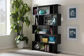 5 Shelves Bookcase Wholesale Interiors Baxton Studio Goodwin 5 Level 70