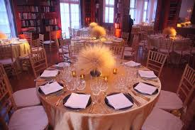 Gold Table L More Than 200 Attendees Dined At The White Meyer House Where