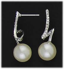 whispers earrings 26 best pearls nickel free and hypoallergenic images on