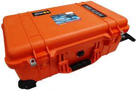 amazon com orange pelican 1510 case no foam empty carry on