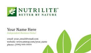 Buy Business Card Nutrilite Business Card Design 1