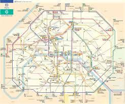 Paris France Map by Paris Bus Route Map French Paris France U2022 Mappery