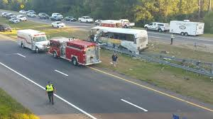 North Carolina bus travel images Four killed 42 injured in college football team bus crash in jpg
