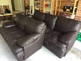 Leather Sofa Sale Sydney Leather Sofa For Sale In Sydney Region Nsw Home U0026 Garden