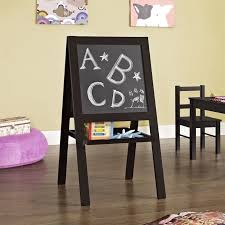 Easel Floor L 2 Sided Wood Floor Easel In Espresso 5831196pcom