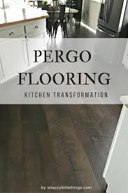 pergo flooring our kitchen reveal snazzy things