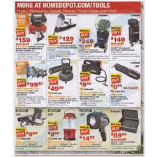 home depot black friday tools home depot black friday 2013 ad